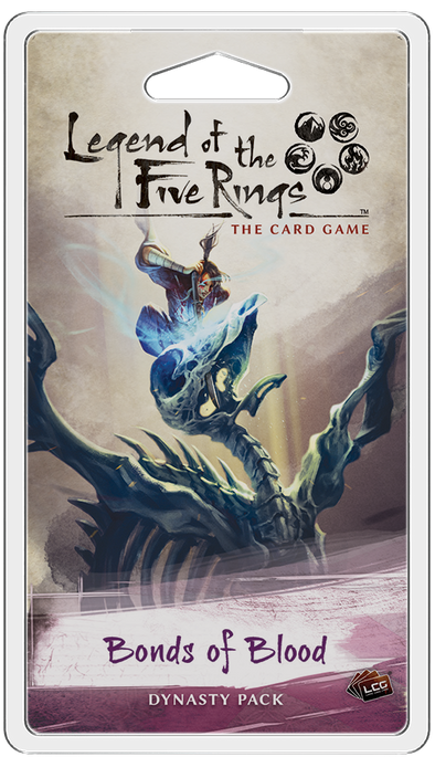 Buy Legend of the Five Rings: The Card Game - Bonds of Blood (Pre-Order) and more Great Board Games Products at 401 Games