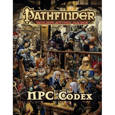 Buy Pathfinder - Book - NPC Codex and more Great RPG Products at 401 Games