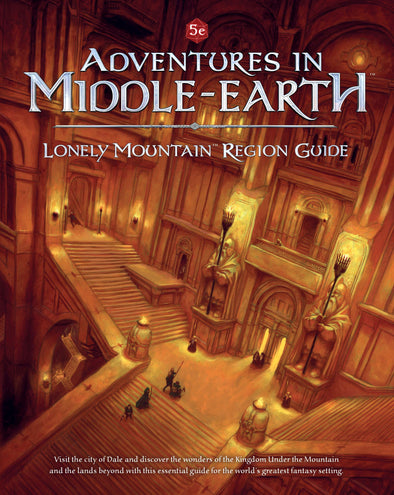 Dungeons and Dragons - 5th Edition - Adventures in Middle-Earth - Lonely Mountain Region Guide - 401 Games