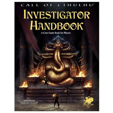 Call of Cthulhu - 7th Edition - Investigator's Handbook - Core Rulebook - 401 Games
