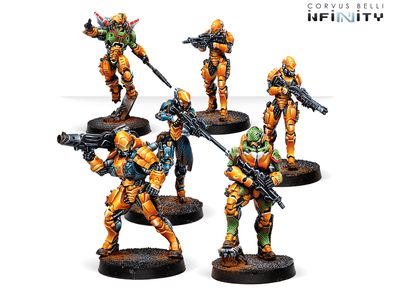 Infinity - Yu Jing - Invincible Army - Starter Pack - 401 Games