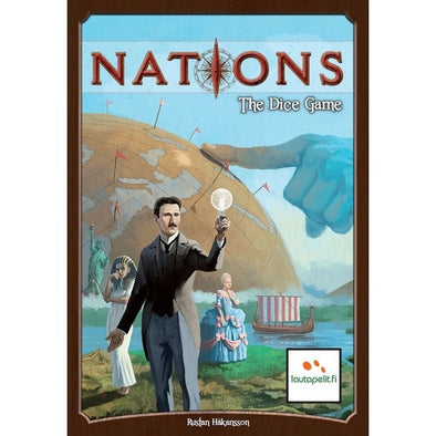 Nations - The Dice Game available at 401 Games Canada