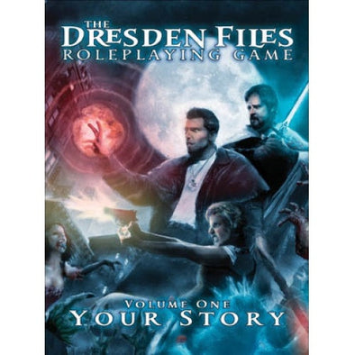 "The Dresden Files - Volume 1 ""Your Story"" - 401 Games"