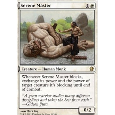 Serene Master (C13) available at 401 Games Canada