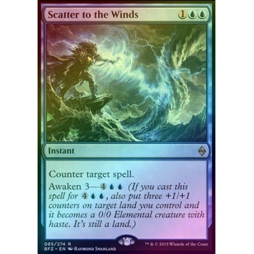 Scatter to the Winds (Foil) (BFZ) - 401 Games
