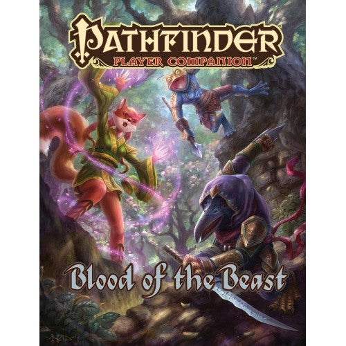 Pathfinder - Player Companion - Blood of the Beast - 401 Games