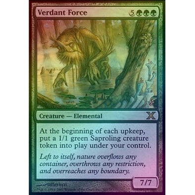 Verdant Force (Foil) available at 401 Games Canada