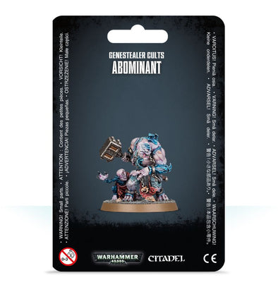 Buy Warhammer 40,000 - Genestealer Cults - Abominant and more Great Games Workshop Products at 401 Games