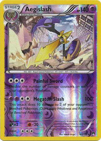 Buy Aegislash - 62/122 - Reverse Foil and more Great Pokemon Products at 401 Games