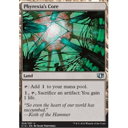 Phyrexia's Core (C14) available at 401 Games Canada
