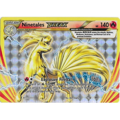 Buy Ninetales BREAK - 16/108 and more Great Pokemon Products at 401 Games