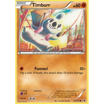 Timburr - 62/101 - 401 Games