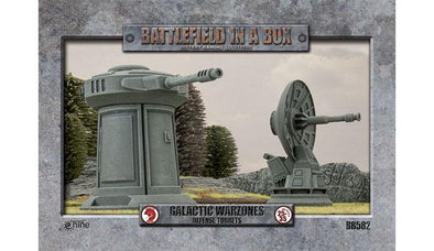 Buy Battlefield in a Box - Galactic Warzones - Defence Turrets and more Great Tabletop Wargames Products at 401 Games
