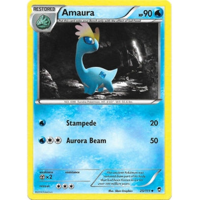 Buy Amaura - 25/111 and more Great Pokemon Products at 401 Games