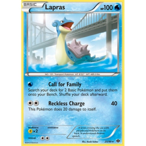Lapras - 25/99 (NXD025) available at 401 Games Canada