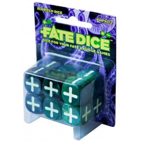 Dice Set - Fate Dice - Eldritch (Fudge) - 401 Games