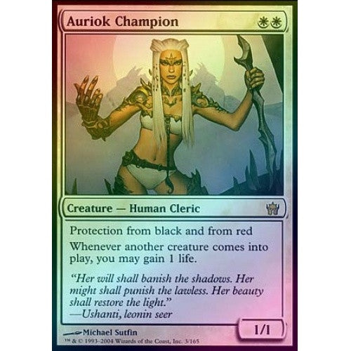 Auriok Champion (Foil) (5DN) available at 401 Games Canada