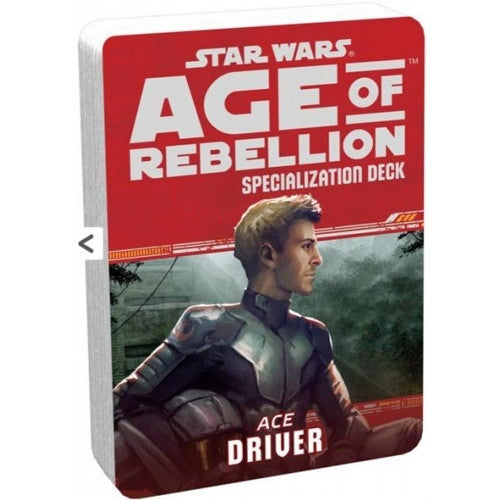 Star Wars: Age of Rebellion - Specialization Deck - Ace Driver - 401 Games