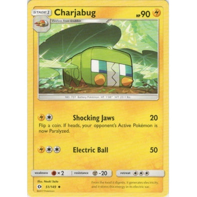 Buy Charjabug - 51/149 and more Great Pokemon Products at 401 Games
