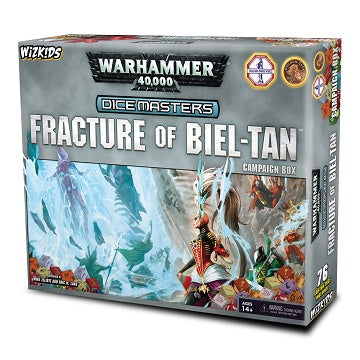Buy Dice Masters - Warhammer 40,000 - Fracure of Biel-Tan Campaign Box (Pre-Order) and more Great Dice Masters Products at 401 Games