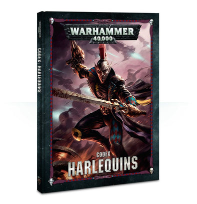 Buy Warhammer 40,000 - Codex: Harlequins - 8th Edition and more Great Games Workshop Products at 401 Games