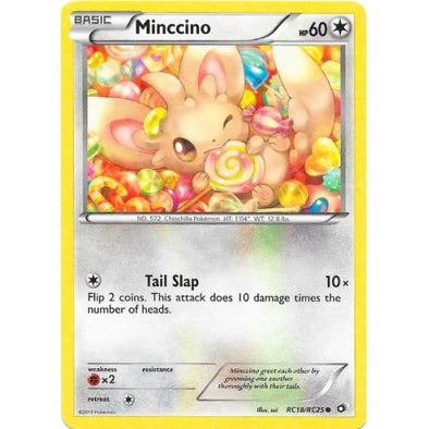 Buy Minccino - RC18/RC25 and more Great Pokemon Products at 401 Games