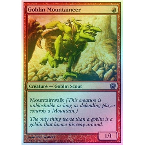 Goblin Mountaineer (Foil) available at 401 Games Canada