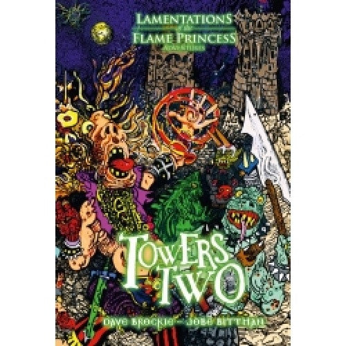 Buy Lamentations of the Flame Princess - Towers Two and more Great RPG Products at 401 Games