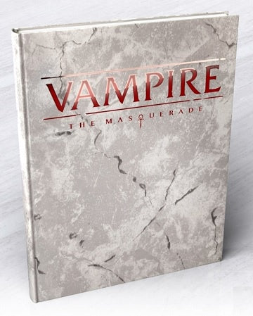 Vampire - The Masquerade 5th Ed. - Hardcover Core Rulebook - Deluxe Edition - 401 Games