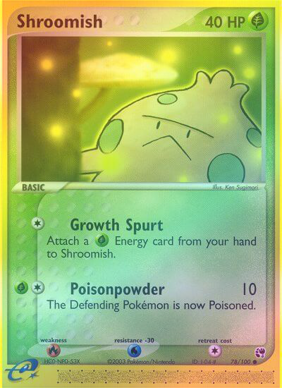 Shroomish - 78/100 - Reverse Foil (SST078R) available at 401 Games Canada