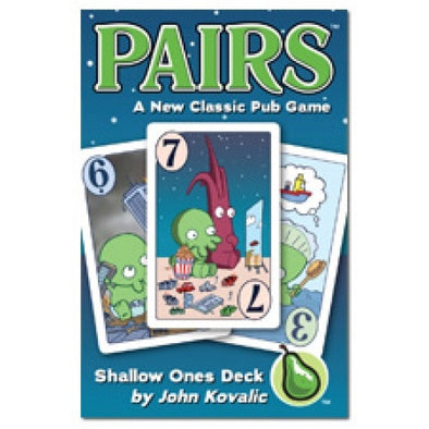 Buy Pairs - Shallow Ones and more Great Board Games Products at 401 Games