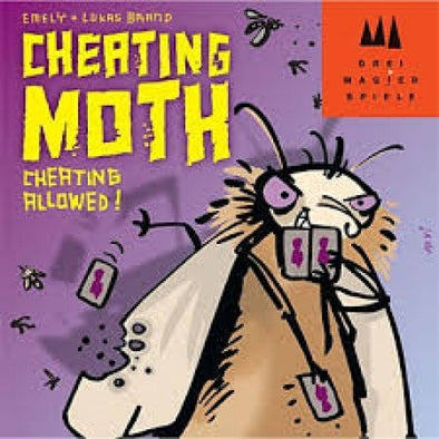 Buy Cheating Moth and more Great Board Games Products at 401 Games