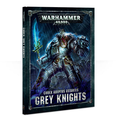 Warhammer 40,000 - Codex: Grey Knights - 8th Edition available at 401 Games Canada