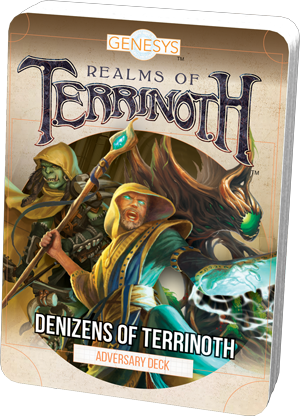 Genesys - Denizens Of Terrinoth Adversary Pack