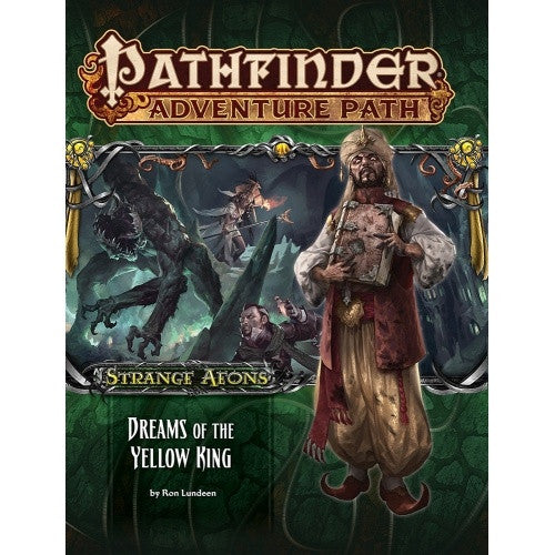 Buy Pathfinder - Adventure Path - #111: Dreams of the Yellow King (Strange Aeons 3 of 6) and more Great RPG Products at 401 Games