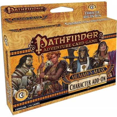 Buy Pathfinder Adventure Card Game - Mummy's Mask Character Add-On Deck and more Great Board Games Products at 401 Games