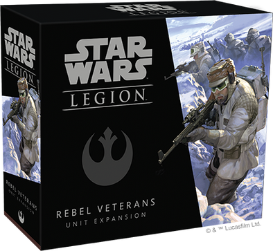 Buy Star Wars - Legion - Rebel Veterans Unit Expansion (Pre-Order) and more Great Tabletop Wargames Products at 401 Games