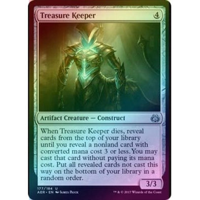 Treasure Keeper (Foil) (AER) available at 401 Games Canada