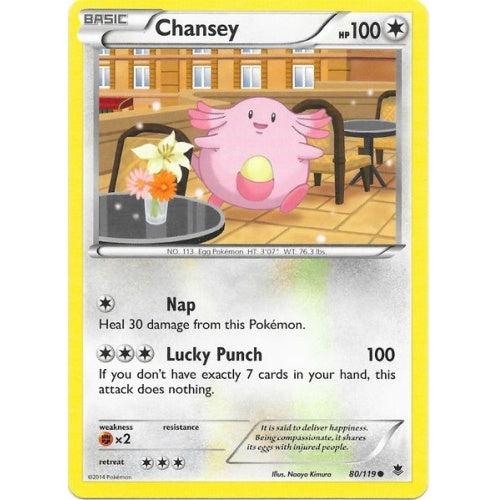 Chansey - 80/119 (PHF080) available at 401 Games Canada