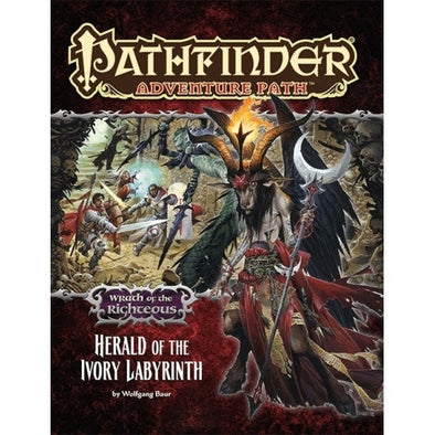 Pathfinder - Adventure Path - #77: Herald of the Ivory Labyrinth (Wrath of the Righteous 5 of 6)