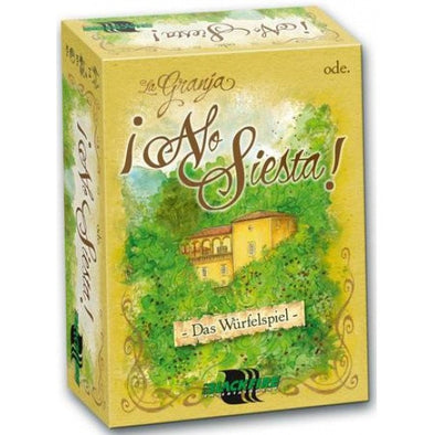 Buy La Granja Dice Game - No Siesta and more Great Board Games Products at 401 Games