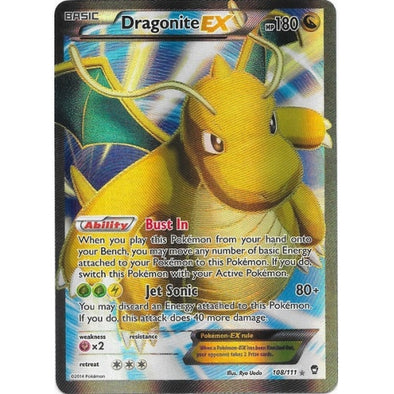 Buy Dragonite-EX - 108/111 - Full Art and more Great Pokemon Products at 401 Games