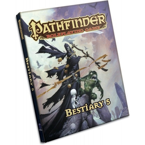 Buy Pathfinder - Book - Bestiary 5 and more Great RPG Products at 401 Games