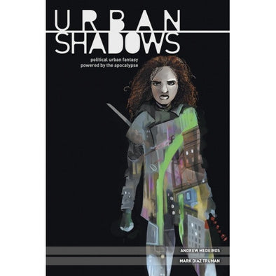 Apocalypse - Urban Shadows - Core Rulebook (Hardcover) available at 401 Games Canada