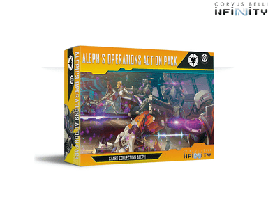 Infinity - ALEPH - ALEPH Operations Action Pack available at 401 Games Canada