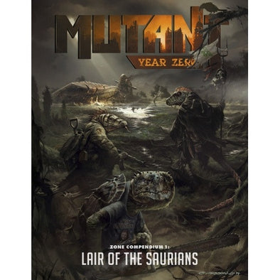 Mutant Year Zero - Lair of the Saurians available at 401 Games Canada