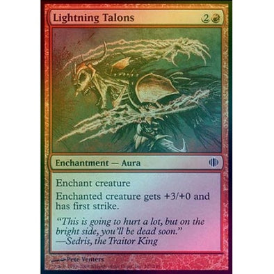 Lightning Talons (Foil) (ALA) available at 401 Games Canada
