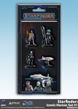 Buy Starfinder Miniatures - Iconic Heroes - Set 1 and more Great RPG Products at 401 Games