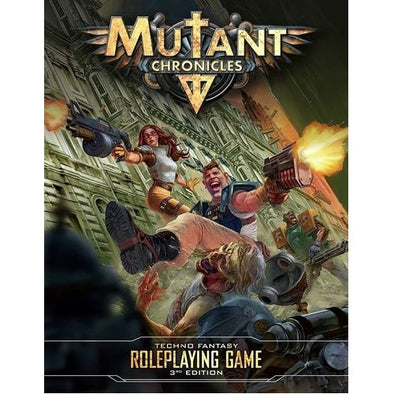Buy Mutant Chronicles - Core Rulebook [Hardcover] and more Great RPG Products at 401 Games