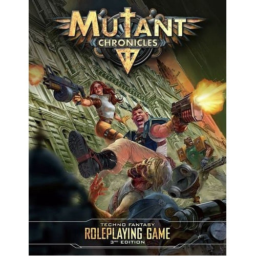 Mutant Chronicles - Core Rulebook [Hardcover] available at 401 Games Canada